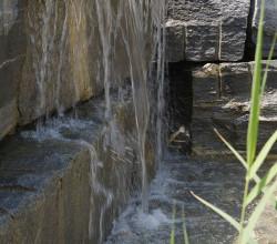 Wasserfall Springbrunnen