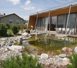 Natürlich gestalteter Schwimmteich