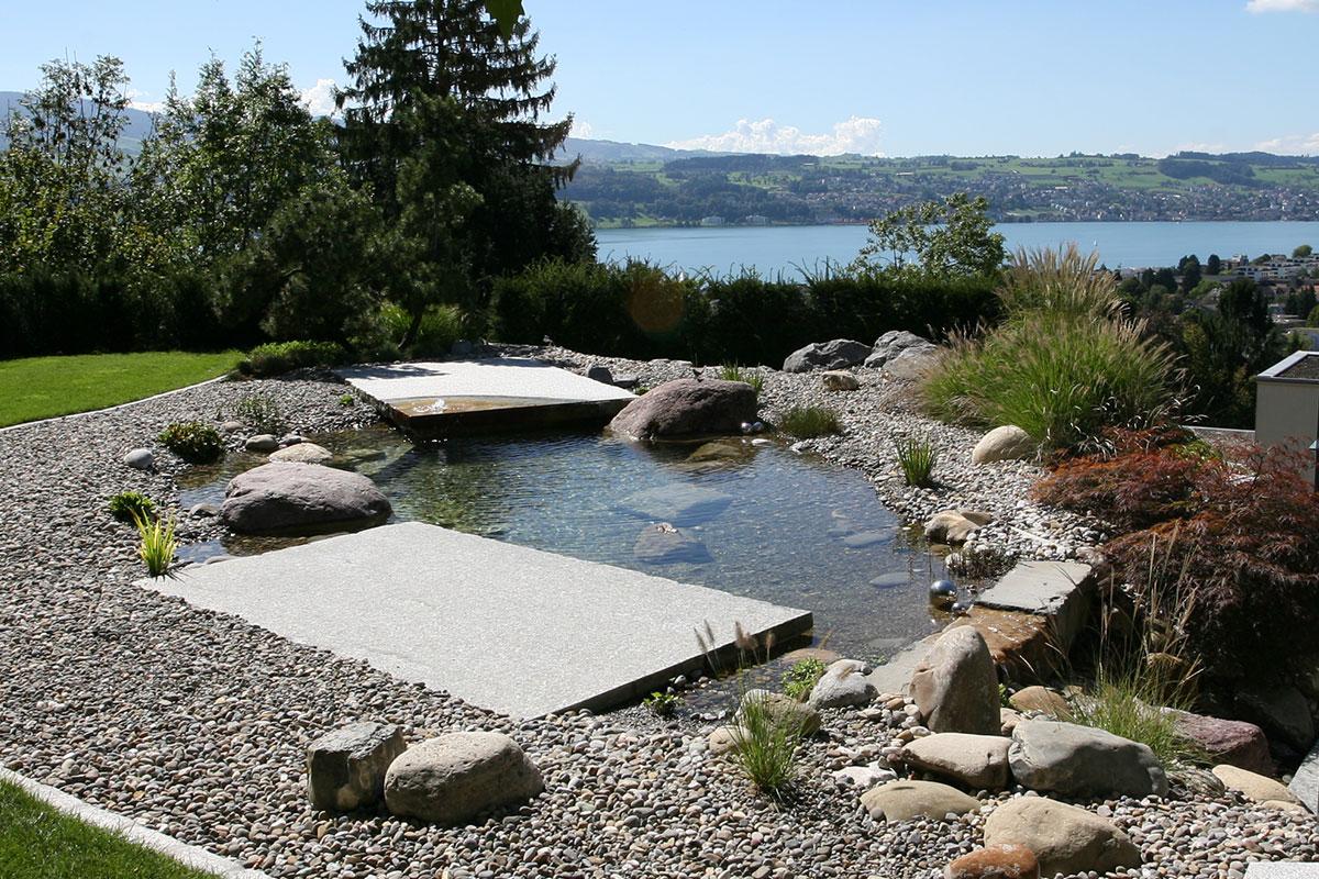 Gartenteich s ubern garten design ideen um ihr zuhause for Teich reinigen fische