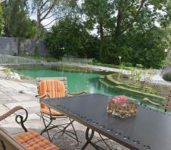 Wassergarten mit Schwimmteich