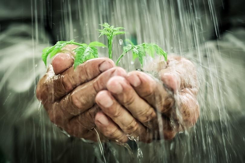 Regenwassernutzung klein